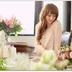 ♡♡pre-order♡♡ เสื้อเกาหลี คอกลมแขนยาว แต่งจีบตรงช่วงหัวไหล่ แขนยาวด้านหน้าติดผ้าลูกไม้ซีทรู สวยหวาน ใส่ทำงานน่ารักมากๆ ค่ะ