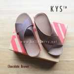 ** NEW 2016 ** FitFlop : : K Y S : : Chocolate Brown : Size US 8 / EU 39
