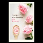 Preorder innisfree INNISFREE IT'S REAL SQUEEZE MASK-ROSE 잇츠 리얼 스퀴즈 로즈 마스크 1매/20mL정가950원 판매가격 950 원won