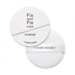 Preorder Etude Fix & Fix Powder 10g 픽스 앤 픽스 파우더 픽서 9000won