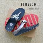**พร้อมส่ง** FitFlop : BLOSSOM II : Nimbus Silver : Size US 5 / EU 36