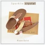 FitFlop : Sparklie Crystal : Rose Glod : Size US 8 / EU 39