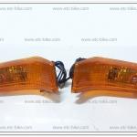 ไฟเลี้ยวหน้า RC100, RC100G ซ้าย-ขวา ฝาส้ม