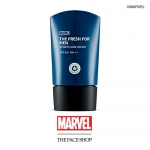 Preorder The Face Shop Marvel The Fresh For Men Sport Sun Cream SPF50PA+++ 50ml 더프레시포맨 레포츠선 SPF50PA+++(마블) 14000won