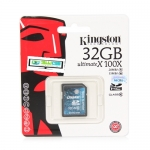 "SD Card 32GB ""Kingston"" (SDX10G2, Class 10)"