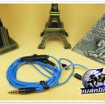 สายหูฟังเกรดพรีเมี่ยม Plug Shure (MMCX) (SMALLTALK-Volume control)
