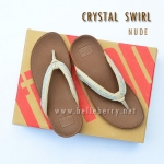 FitFlop : CRYSTAL SWIRL : Nude : Size US 6 / EU 37