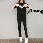 ชุดออกกำลังกายไซส์ใหญ่ สีดำ (XL,2XL,3XL,4XL)