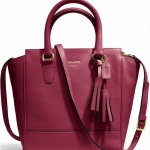 COACH LEGACY LEATHER MINI TANNER # 48894 สี DEEP PORT