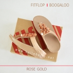 * NEW * FitFlop : BOOGALOO : Rose Gold : Size US 6 / EU 37