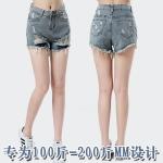 กางเกงยีนส์ขาสั้น (XL,2XL,3XL,4XL,5XL,6XL)