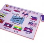 SKAEC-09 ภาพตัดต่อธงประจำชาติอาเซียน