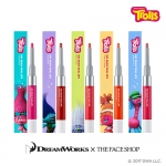 Preorder The Face Shop Trolls Ink Draw Dual Lip 잉크드로우 듀얼 립_트롤 에디션 12000won