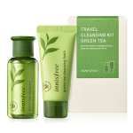 Preorder Innisfree TRAVEL CLEANSING KIT_GREEN TEA 1 set 트래블 클렌징 키트 [그린티] 3500won