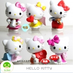 Hello kitty 6 ตัว ชุด 2