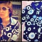 [[พร้อมส่ง]] Sretsis bloomy shirt and คุณเอมมี่นะคะ น้ำเงิน