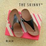 **พร้อมส่ง** รองเท้า FitFlop THE SKINNY : BLACK : Size US 7 / EU 38