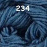 ไหมพรมดาหลา สีพื้น สี 234