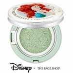 The Face Shop Tone Up Cushion #01 Mint Mermaid Princess