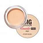 Preorder Etude Big Cover Pot Concealer PRO 4g 빅커버 팟 컨실러 PRO 6500won