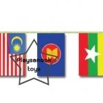 SKAEC-12 ธงราวสมาชิกประเทศอาเซียน