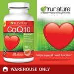TruNature-CoQ10=100mg ขวด220เม็ด บำรุงหัวใจแข็งแรง,ชะลอความแก่,ถนอมสมอง, ผิวพรรณสวยงาม (มี2ขวด exp.06/2019)