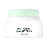 Preorder Etude Sweet Pudding Tone-Up Cream (Green) 50ml 스윗 푸딩 뽀얀크림 매끈수분 10000won