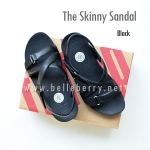 * NEW * FitFlop The Skinny Sandal : Black : Size US 5 / EU 36