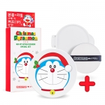 *พร้อมส่ง*Apieu Air fit Cushion set (Doraemon Holiday) [No. 21]