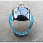 หน้ากาก TENA เก่า สีเขียวเมท/ดำ (H39)