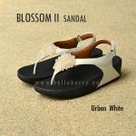 **พร้อมส่ง** FitFlop : BLOSSOM II Sandal : Urban White : Size US 7 / EU 38