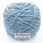 เชือกฟอก สี 17 สีฟ้าอ่อน (ฟ้าใส)