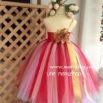 ชุดออกงานสาวน้อย tu tu dress handmade