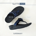 * NEW * FitFlop GLITTEROSA : Supernavy : Size US 9 / EU 41