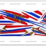 สติ๊กเกอร์ MIO-AMORE ลายธงชาติ