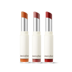 Preorder INNISFREE REAL FIT CREAMY LIPSTICK 리얼 핏 립스틱 12,000 won มีสีลิปให้เลือกถึง 10 เฉดสีด้วยกัน เรียกได้ว่าสาวๆ สามารถเนรมิตริมฝีปากตัวเองให้โดดเด่น เรียบขรึม หรือสวยหวาน เพื่อให้เข้ากับอารมณ์ของบรรยากาศหน้าหนาวแต่ละวันได้ตามใจชอบเลยค่ะ Innisfree ต้องก