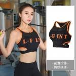 เสื้อครอปแขนกุดสำหรับออกกำลังกาย สีขาว/สีดำ/สีเทา (L,XL,2XL,3XL,4XL) ZY7937