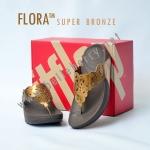 **พร้อมส่ง** รองเท้า FitFlop FLORA : Super Bronze : Size US 7 / EU 38
