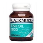 Blackmores Fish Oil 1000 mg 80 แคปซูล ป้องกันและลดความรุนแรงของโรคหัวใจ และความดันโลหิตสูง