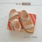 * NEW * FitFlop BON LIZARD : Nude Pink : Size US 7 / EU 38