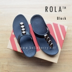 ** NEW From USA 2016 ** FitFlop : ROLA : Black : Size US 7 / EU 38