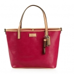 Coach 26731 PARK METRO PATENT SMALL TOTE # 26731 สี RED