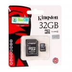 "Micro SD Card 32GB ""Kingston"" (SDC4)"