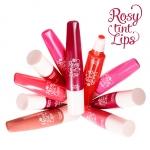 Preorder Etude Rosy Tint Lips 로지 틴트 립스 8500 won แต่งแต้มริมผีปากให้เนียนนุ่ม น่าสัมผัส ราวกับกลีบกุหลาบแรกแย้มด้วยลิปทิ้นต์เนื้อครีมบางเบา เนียนสวย
