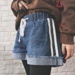 กางเกงยีนส์ขาสั้นแฟชั่นเกาหลีราคาถูก