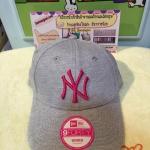 (พรีออเดอร์)New Era NY 9Forty Cap Grey/Pink