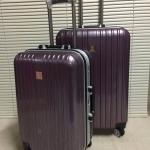 กระเป๋าล้อลากแบบใหม่ล่าสุด หน้าเงาสวย 4 ล้อหมุน 360 ํ (ส่งฟรี / ems. ใบละ 150 บ.)