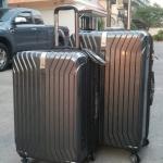 (สีดำ) กระเป๋าเดินทางล้อลาก Swiss gear (ส่งฟรีธรรมดา) / ems. คิดเพิ่มตามขนาด
