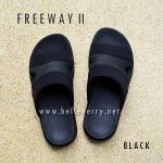 **พร้อมส่ง** FitFlop FREEWAY II : Black : Size US 11 / EU 44
