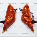 ไฟเลี้ยวหน้า JR120 ซ้าย-ขวา ฝาส้ม